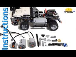 42043 RC MOD Instructions   B model Mercedes Benz Arocs 3245 by PPUNG DADDY